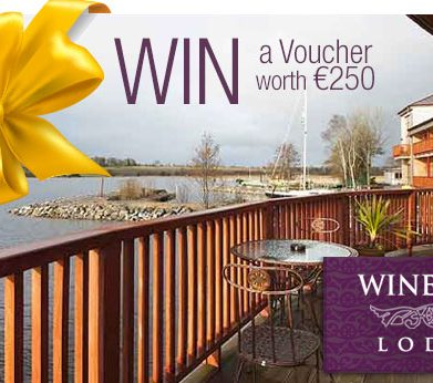 "WIN ""Voucher worth €250"" for Fabulous 4* Wineport Lodge!!"
