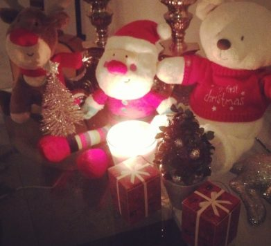 Christmas interior!