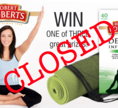 WIN Robert Roberts Speciality Teas and Yoga Dublin Studios combo