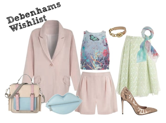 Debenhams Wishlist