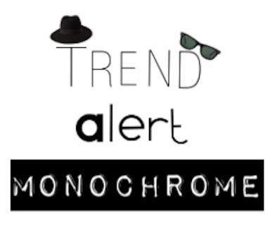 TREND ALERT: Monochrome