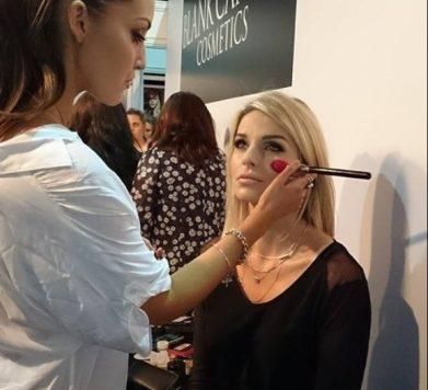 Make up look by Tara O'Farrell