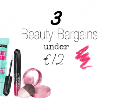 3 Beauty Must-Haves UNDER €12