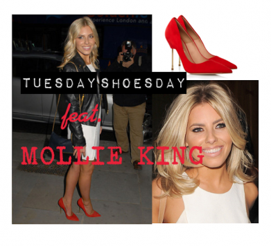 Tuesday Shoesday featuring MOLLIE KING!