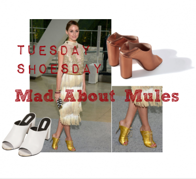 Tuesday Shoesday: Mad About Mules