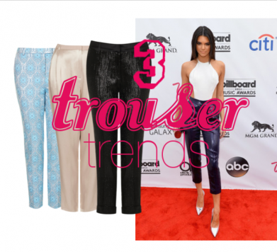 3 Trousers Trends to Try This Summer!
