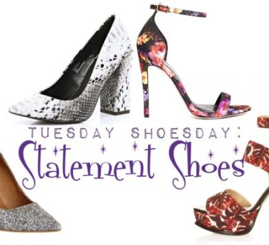 Tuesday Shoesday: Make a statement!