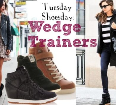 Tuesday Shoesday: Wedge Trainers