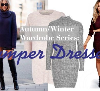 Autumn/Wardrobe Series: Jumper Dresses