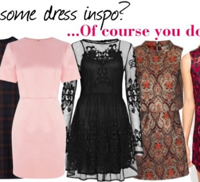 Need some new dress inspiration? …Of course you do ;-)