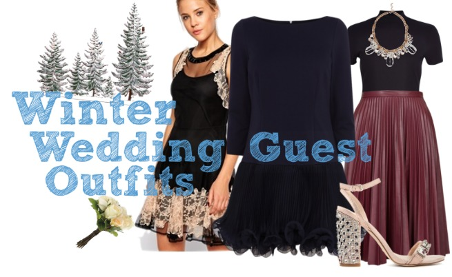 a0ce427cedb Winter Wedding Guest Outfits!