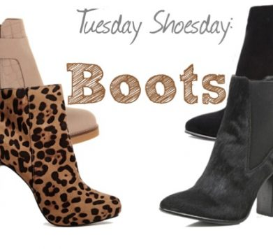 Tuesday Shoesday: Winter Night Time Boots