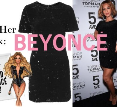 Get Her Look: Beyoncé's Glam Party Look