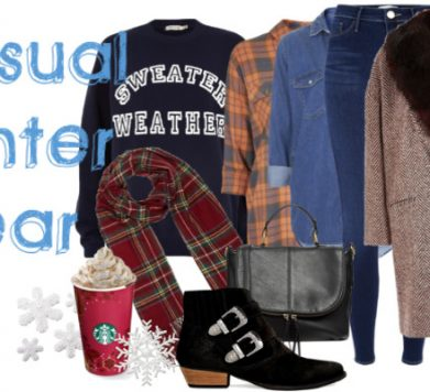 Casual Winter Wear!