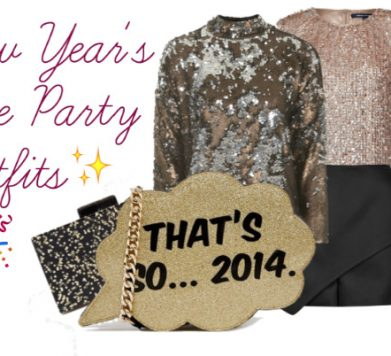 Sparkle on New Year's Eve – Outfits For Everyone!