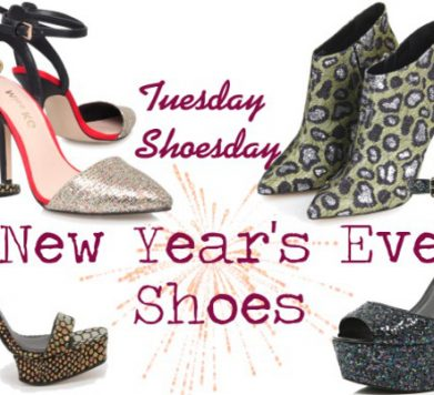 Tuesday Shoesday: New Year's Eve Shoes