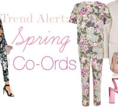 TREND ALERT: Spring Co-Ords