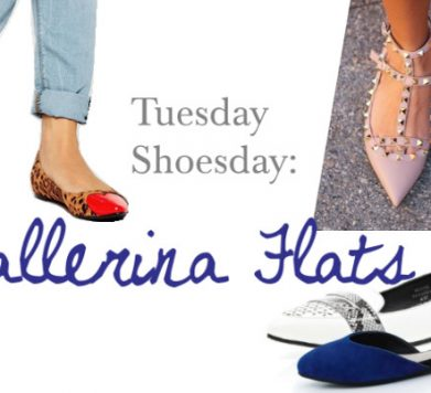 Tuesday Shoesday: Ballerina Flats