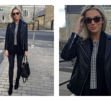 What I Wore… Simple Black & White