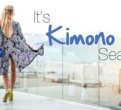 It's Kimono Season!