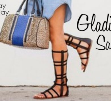 Tuesday Shoesday: Gladiator Sandals