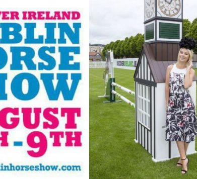 Dundrum Town Centre Best Dressed Lady at The Dublin Horse Show