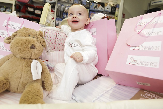 The Pregnancy and Baby Fair returning to  DublinÕs RDS this Apri
