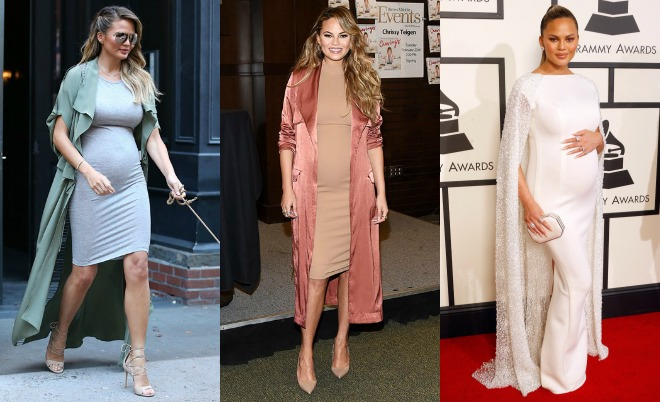 2b6cadd2c6b Chrissy Teigen has quickly become our go-to person for maternity style  inspiration. Since announcing her pregnancy with John Legend last October