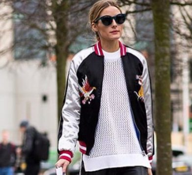 London Fashion Week Fave: Silky Bomber Jacket
