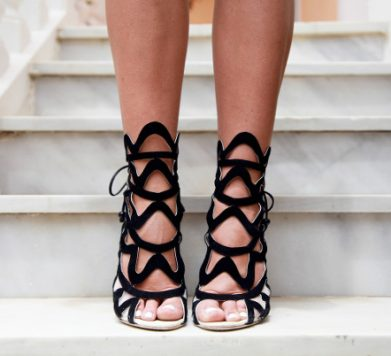 Tuesday Shoesday: Cut-Out Sandals
