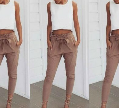 Summer Staple: Tapered Trousers