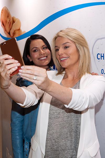 Pippa WaterWipes Selfie