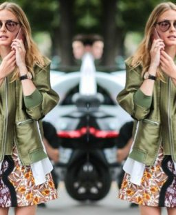 The bomber jacket obsession continues…