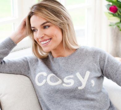 Cosy Chic Cashmere from Lucy Nagle