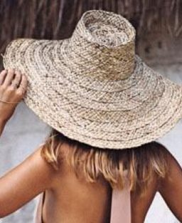 Summer Essential: Straw Hat Perfection