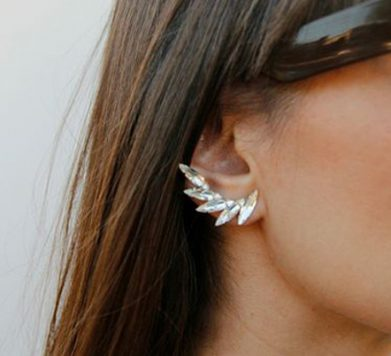 This Season's Must-Have Accessory? The Ear Cuff!