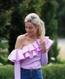 What I Wore! One-Shoulder Wonder