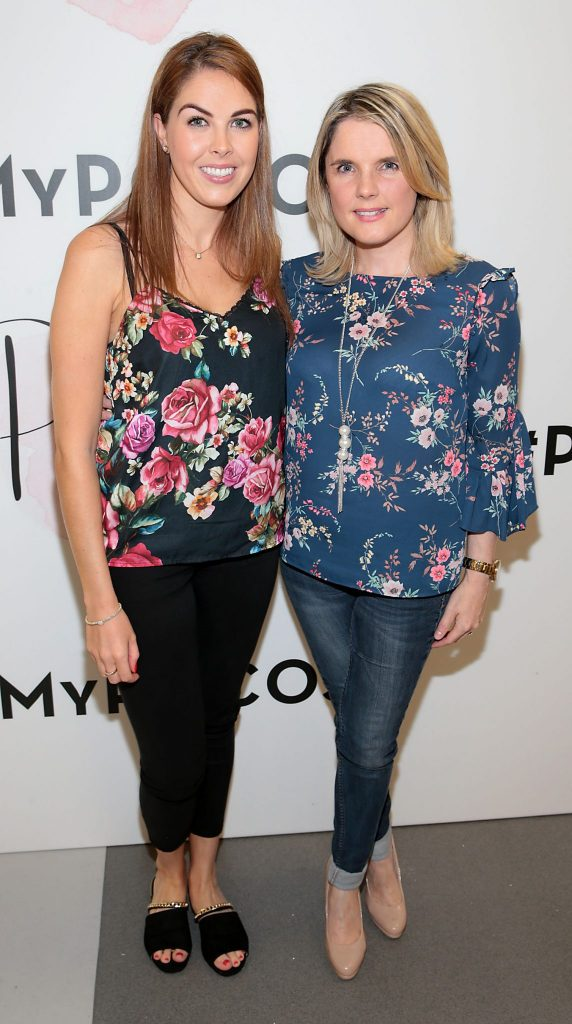 Jessica Kingston and Karen Hickey pictured at the opening of Pippa O'Connor's POCO by Pippa Pop Up shop at Mahon Point Shopping Centre, Cork. Picture: Brian McEvoy No Repro fee for one use