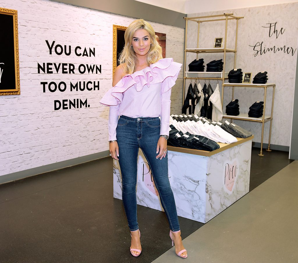Pippa O Connor at the opening of her POCO by Pippa Pop Up shop at Mahon Point Shopping Centre, Cork. Picture: Brian McEvoy No Repro fee for one use