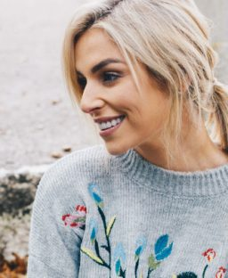 The Floral Embroidered Jumper You'll Love This Winter