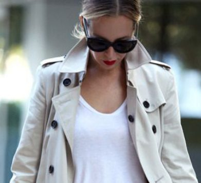 Save, Spend, Splash Out: The Classic Trench Coat