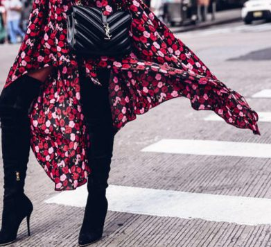 The Dress & Boot Combo We're Loving Right Now