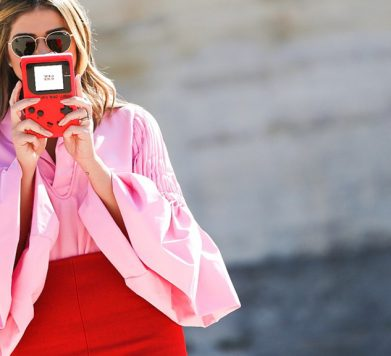 Why Red & Pink is This Season's IT Colour Combination