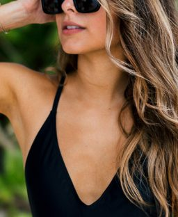 The Chicest One-Piece Swimsuits