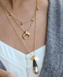 Currently Obsessed: The Layered Gold Chain Necklace Trend