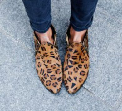 Tuesday Shoesday: The Leopard Print Ankle Boot Trend