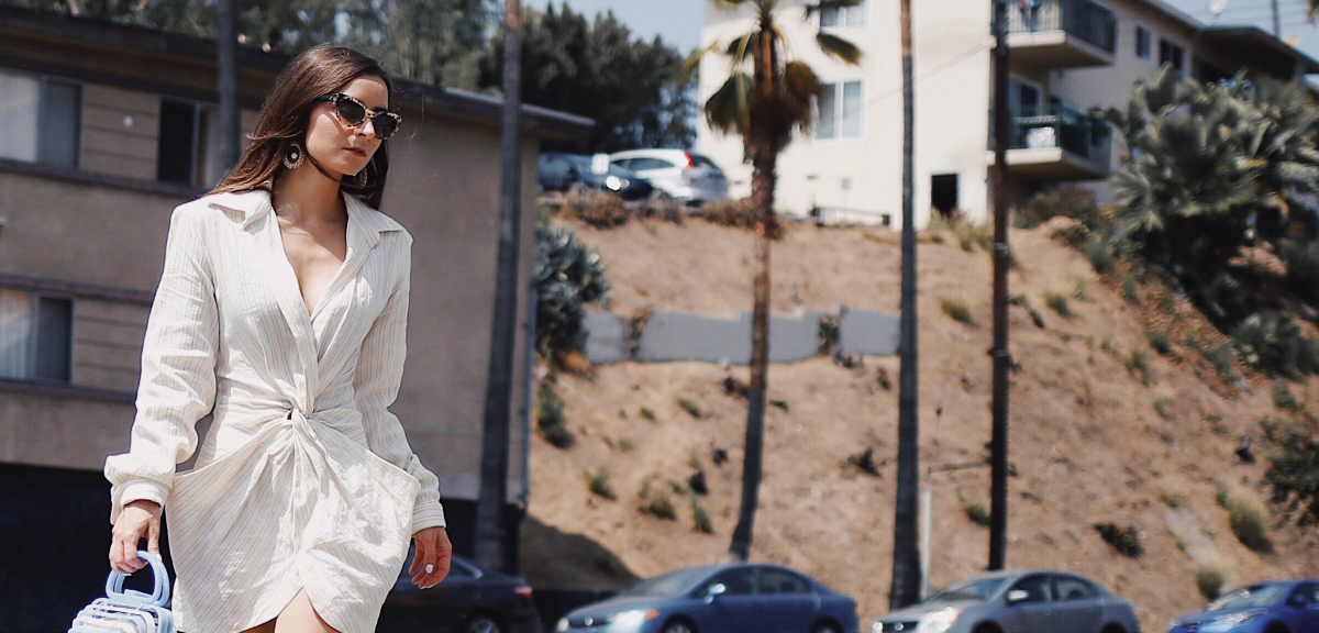 The Little White Dress is Here To Dominate This Summer