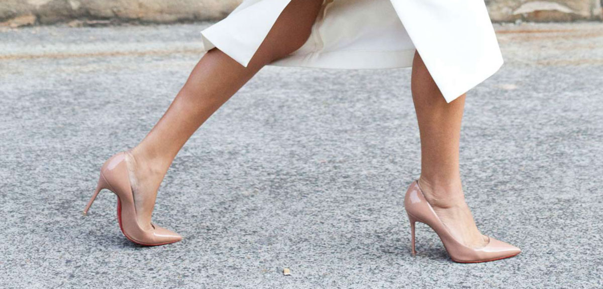 Tuesday Shoesday: The Secret To Longer-Looking Legs? Nude Heels